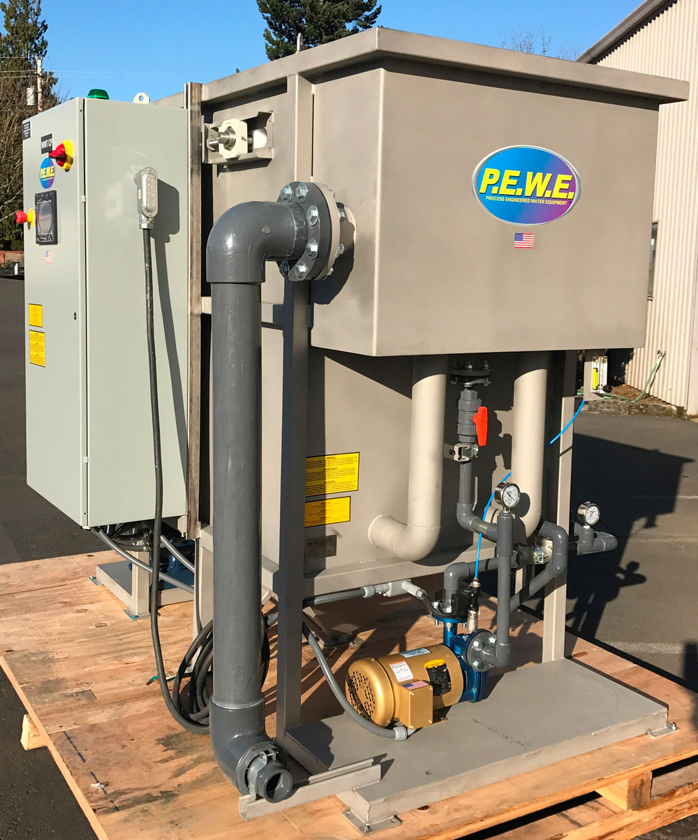 NxJEM AS-15 Dissolved Air Flotation DAF Unit