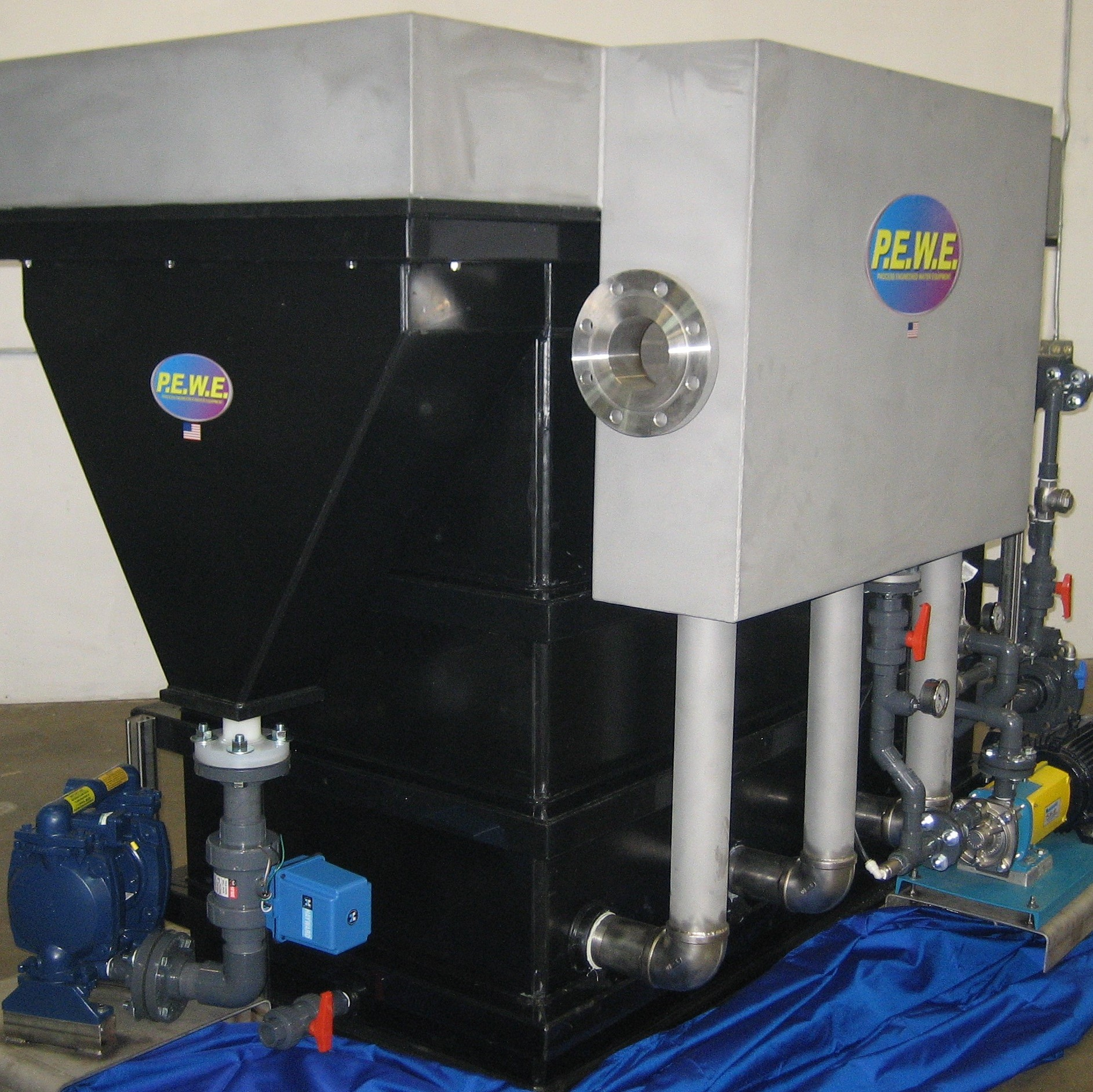 PEWE Poly-E DAF Dissolved Air Flotation